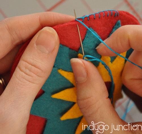 detailed stitching