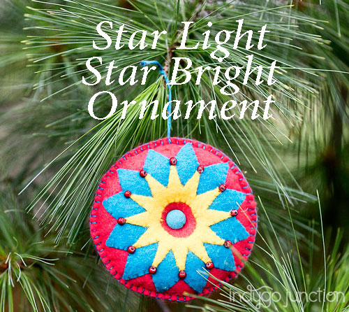 star light star bright ornament