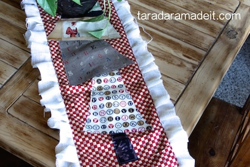 Rustic Christmas Table Runner