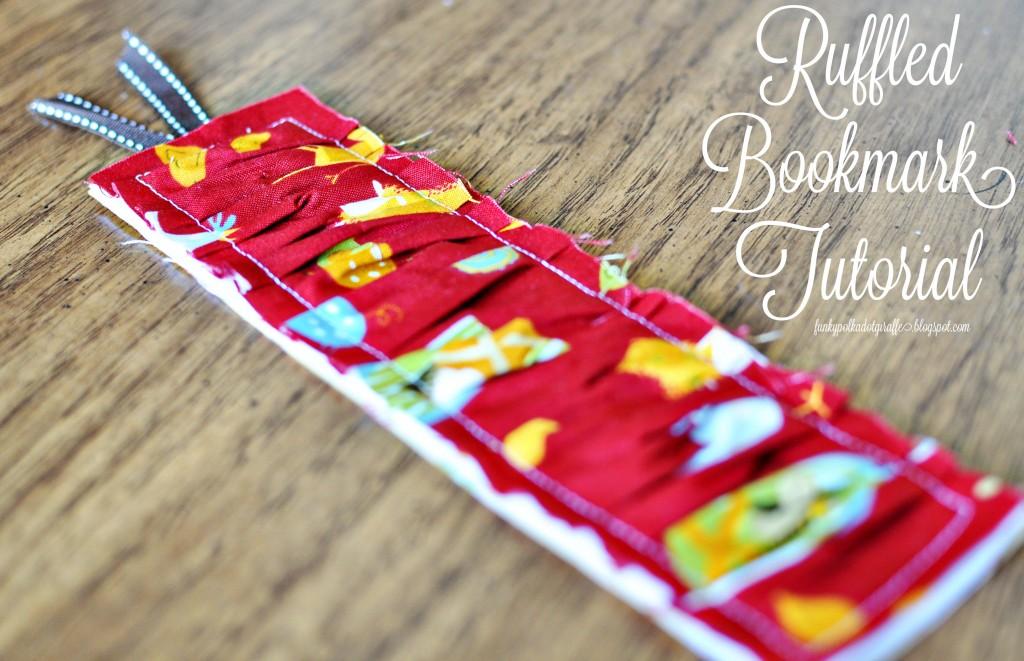 Ruffled Bookmark 06