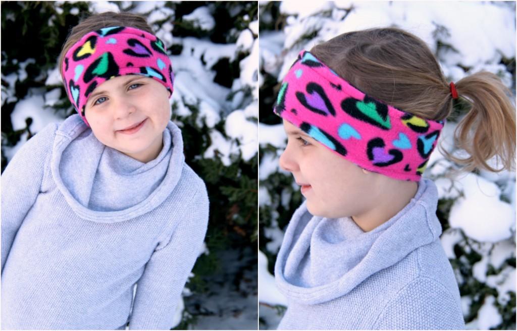 Super Easy DIY Fleece Earwarmer Tutorial