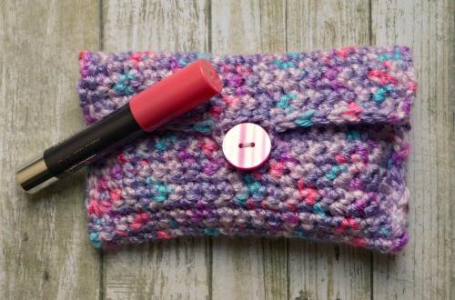 Easy Crochet Pouch Pattern : Easy Crochet Pouch Skip To My Lou