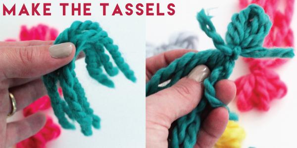 Tassel Infinity Scarf DIY