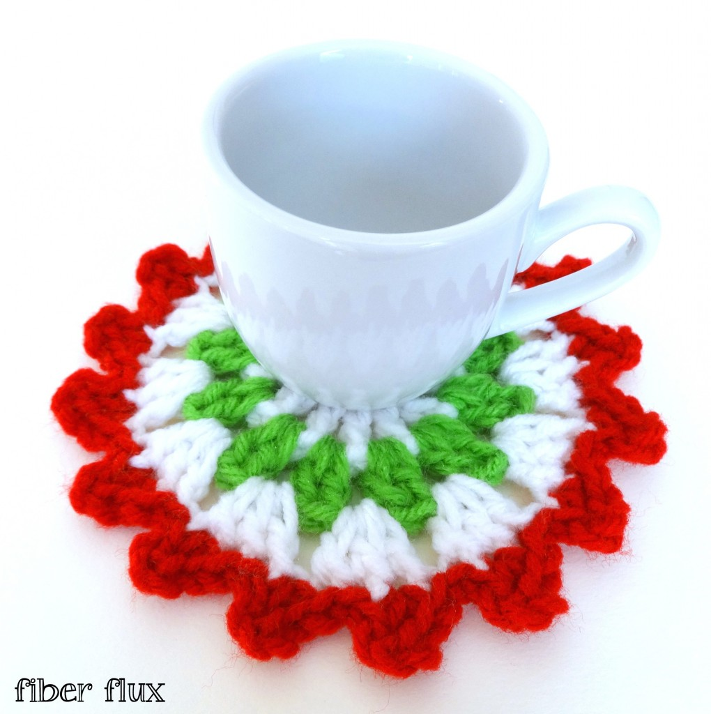 diy crochet coaster