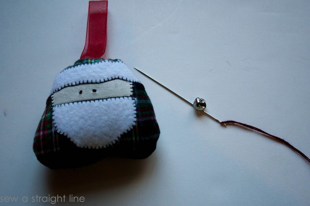 santa face ornaments sew a straight line-15