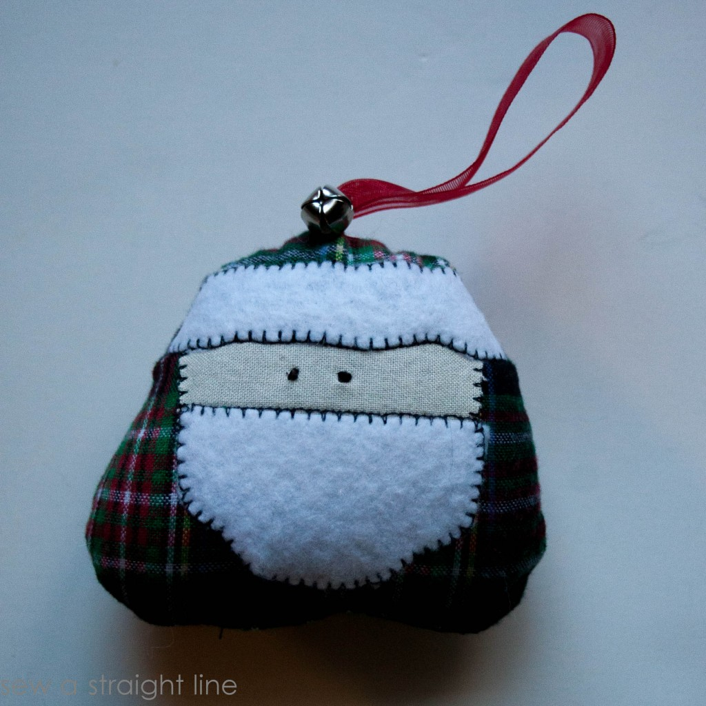 santa face ornaments sew a straight line-17