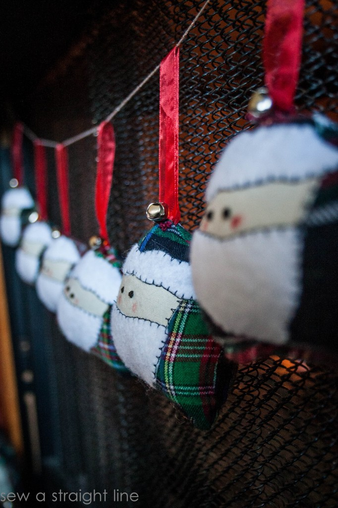 santa face ornaments sew a straight line-2-2
