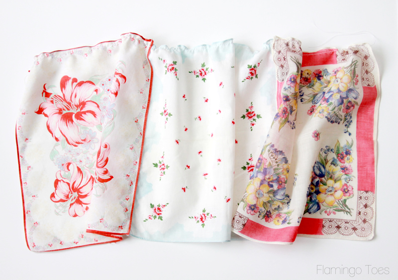sewing handkerchief ruffles
