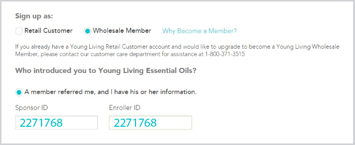 signup youngliving