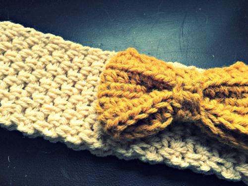 Bow headband pattern
