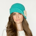 Charleston Cloche Hat Crochet Pattern Small