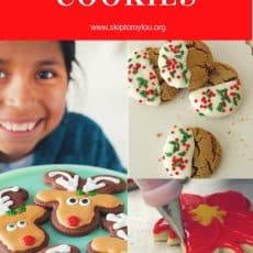 Christmas Cookies Pinterest Graphic