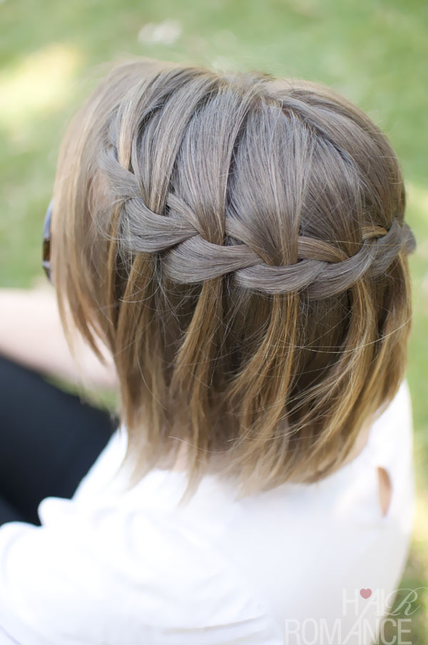 water fall braid