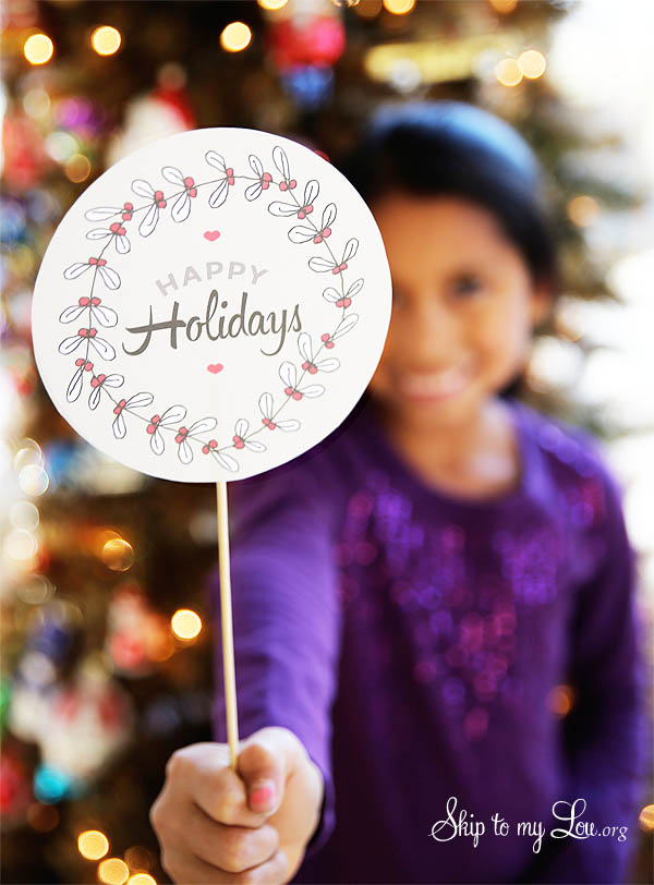 Holiday Hostess Gift Printable