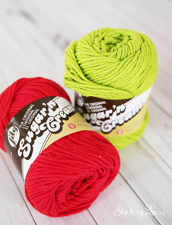 Lily Sugar and Cream yarn