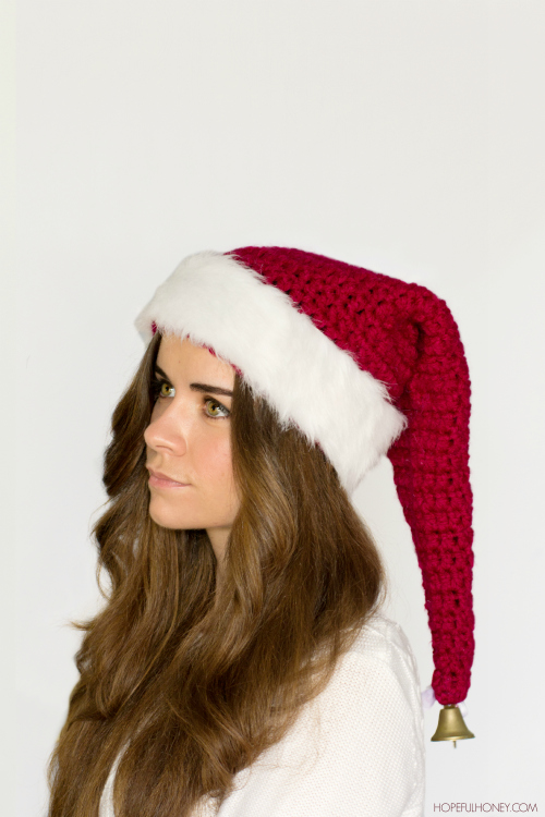 be67867b668 Santa Claus Hat Crochet Pattern - Skip To My Lou 3