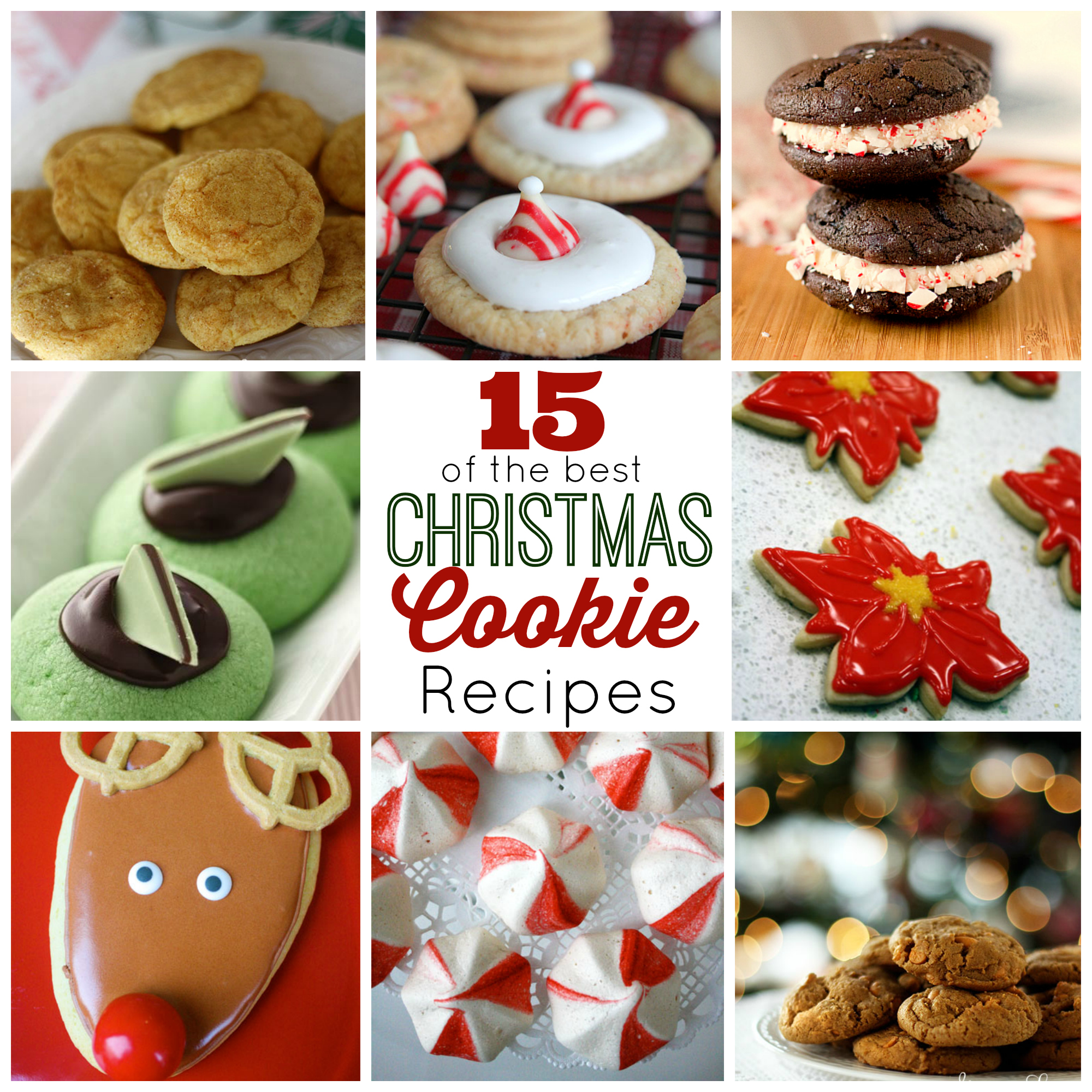 Cookies Recipes For Christmas: 15 Of The Best Christmas Cookies