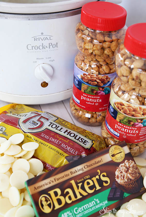 crock pot candy ingredients