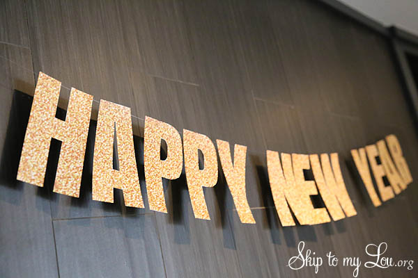 happy new year printable banner