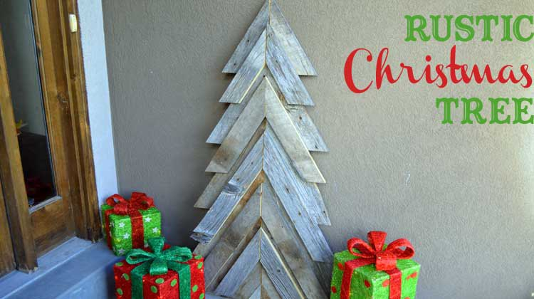 diy christmas decorations rustic trees