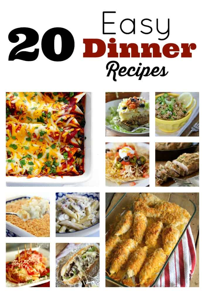 Meals In Minutes: Easy Dinner Recipes