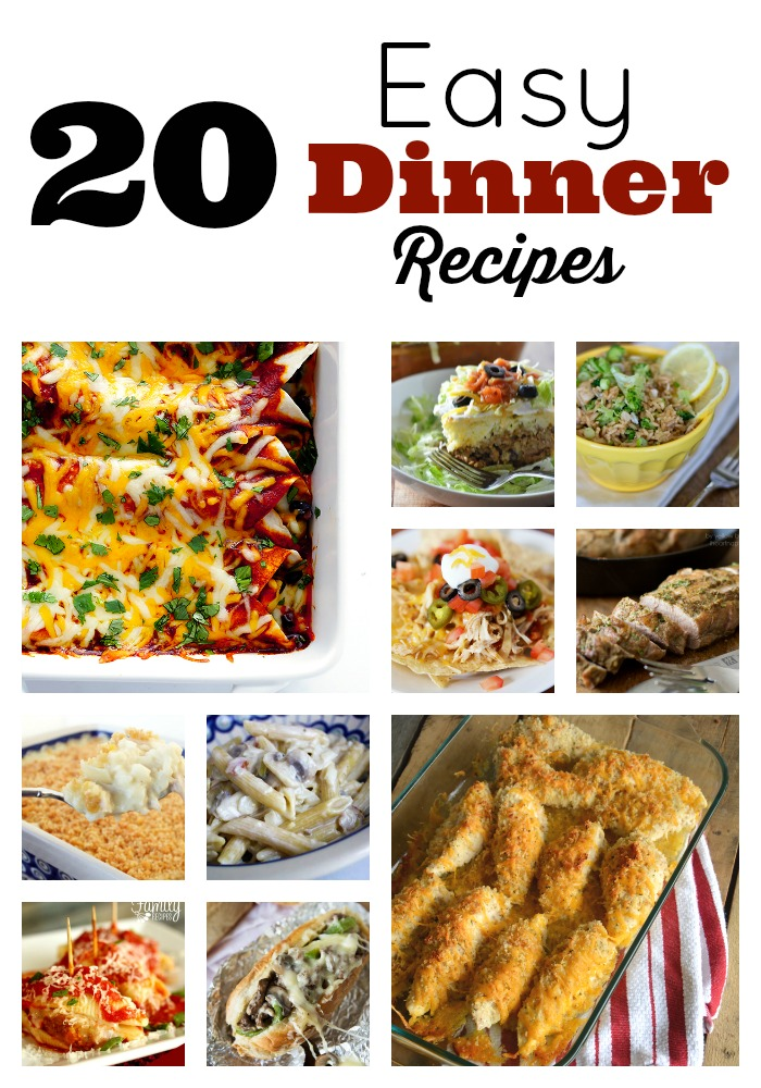Meals In Minutes Easy Dinner Recipes