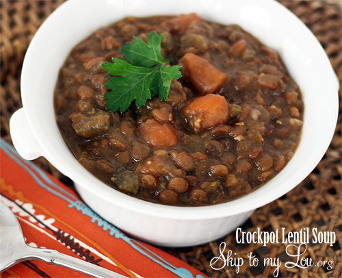 crock pot lentil soup