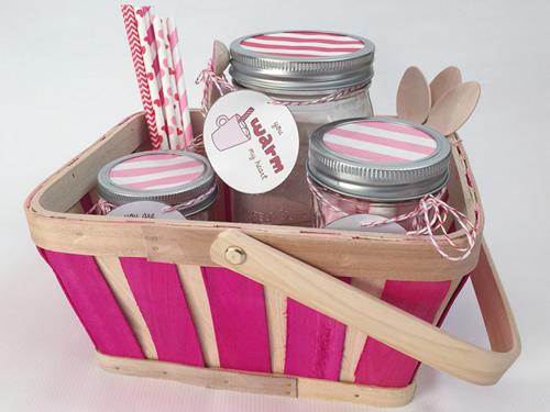Hot Cocoa Valentine Gift Basket
