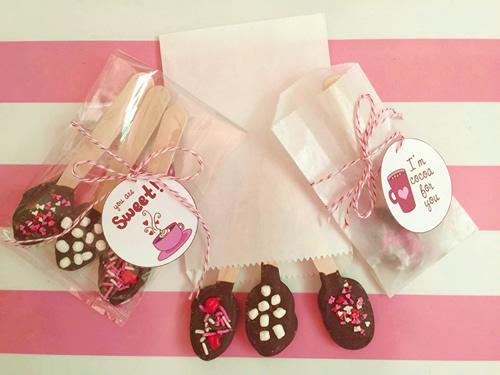Valentine Hot Chocolate Spoons