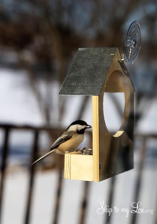 Diy Wooden Bird Feeder Skip To My Lou