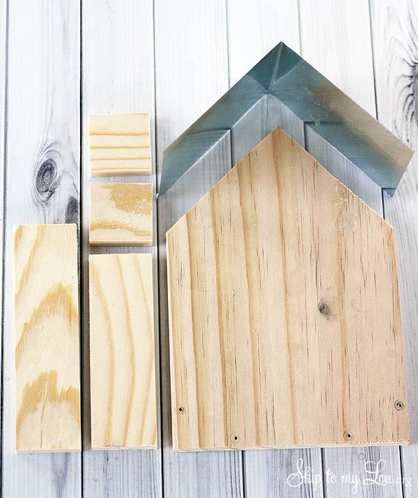 wooden birdfeeder supplies