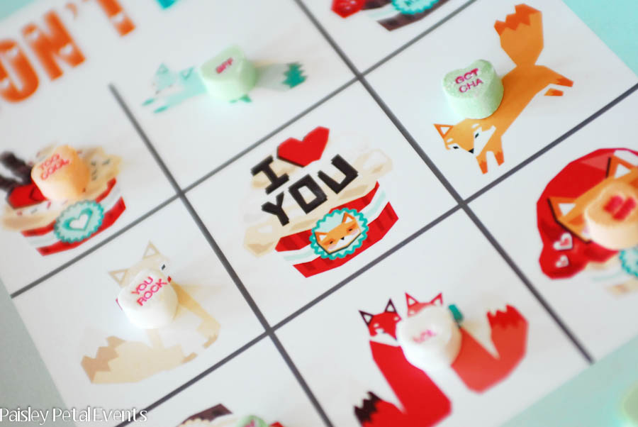 Don't Eat Val - a fun little Valentine's Day game for kids to play at those classroom parties