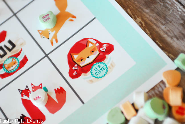 Free printable Valentine's Day game for kids