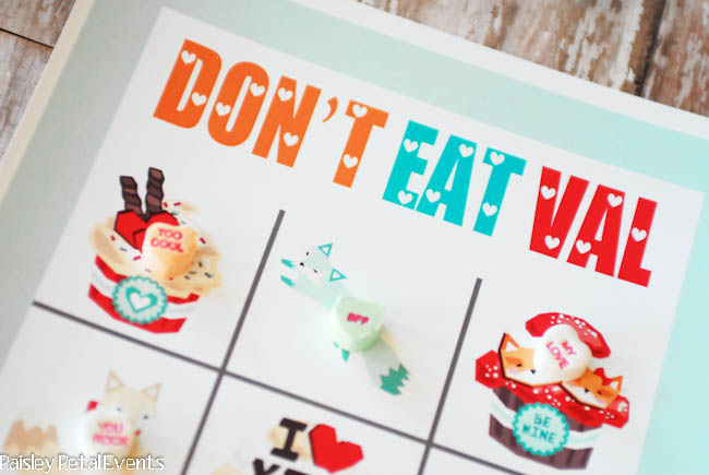 Don't Eat Val - a super fun Valentine's Day game for kids