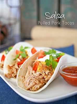 Salsa Pulled Pork Tacos from kleinworthco.com