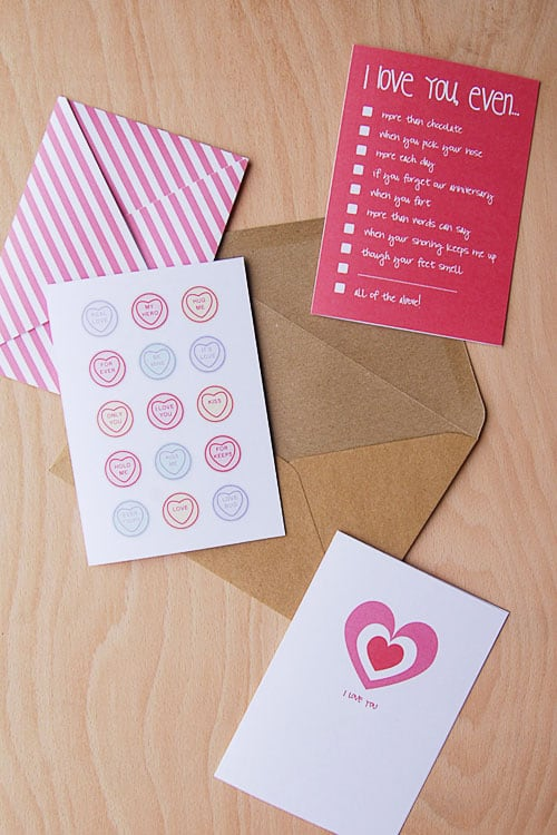 Valentine 39 s Day Card Printable