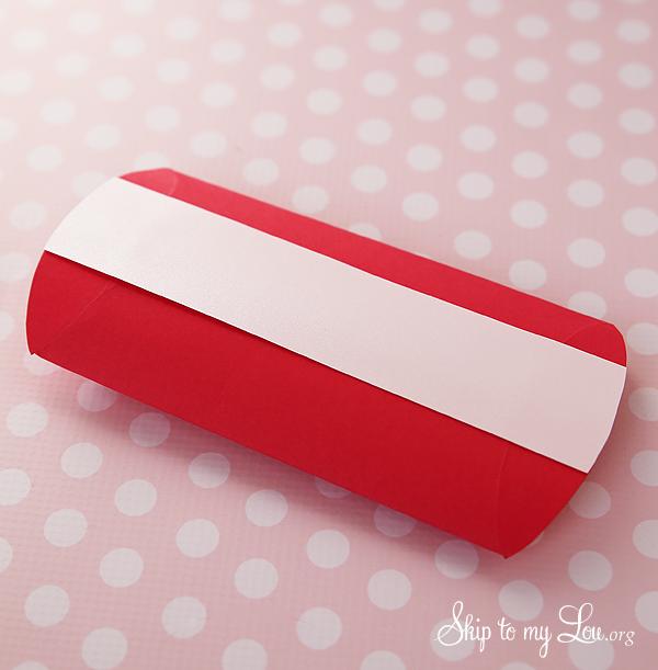 pillow box step 3