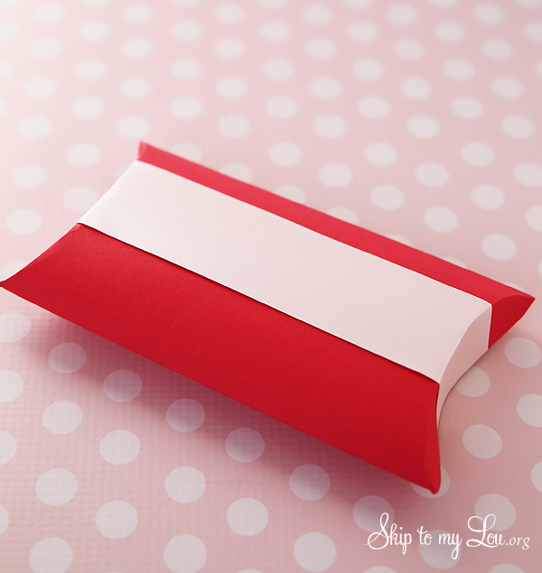 pillow box step 4