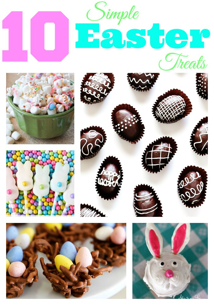simple easter treats collage