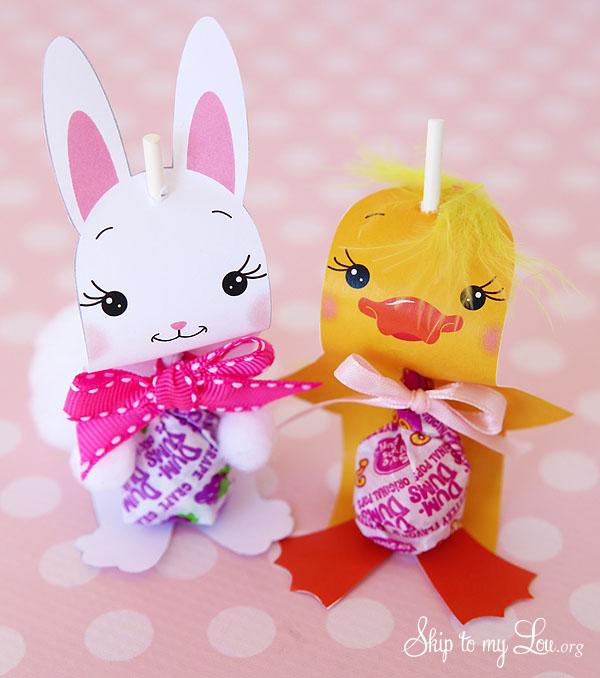Bunny Chick sucker holders