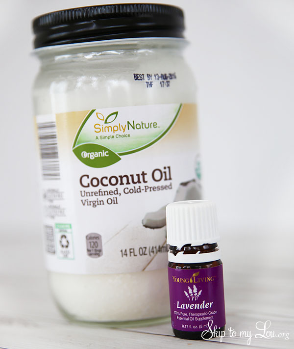 Coconut Oil and Lavender Body Butter