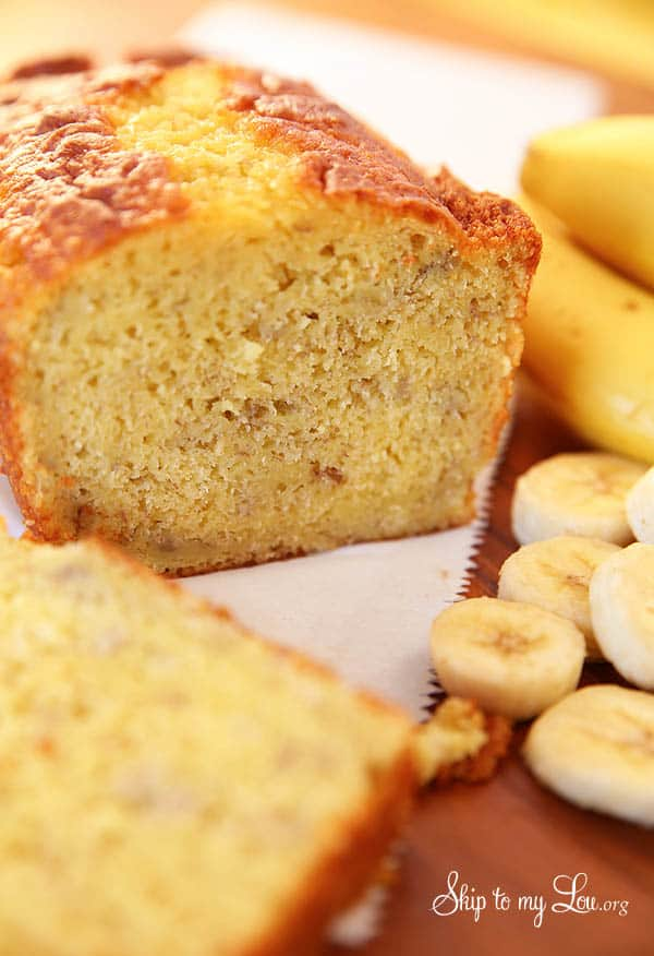 Easy Banana Bread Skip To My