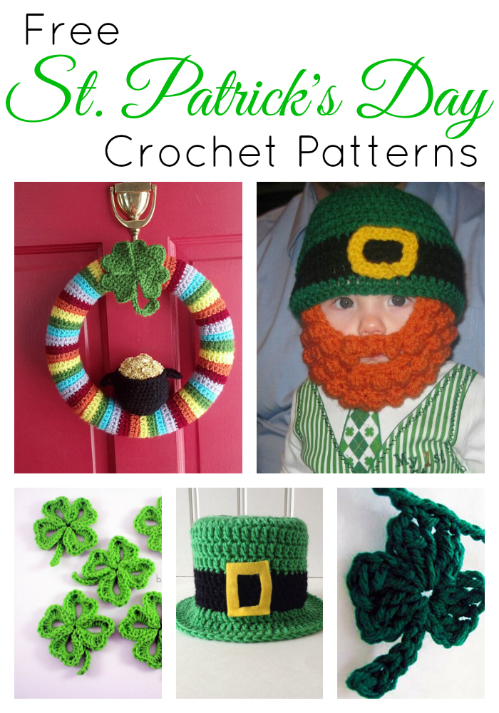 Free St Patrick's Day Crochet Patterns