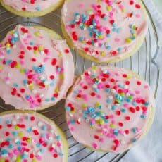 best sugar cookie frosting