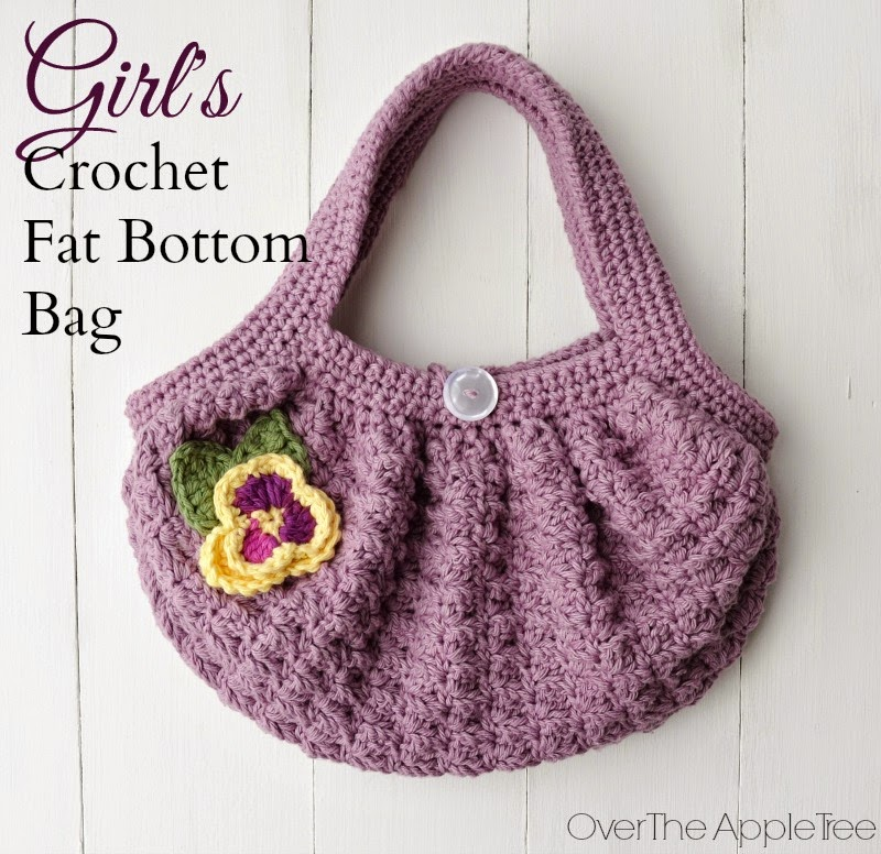 Free Crochet Pattern Fat Bottom Bag : DIY Tote Bags Ideas Skip To My Lou