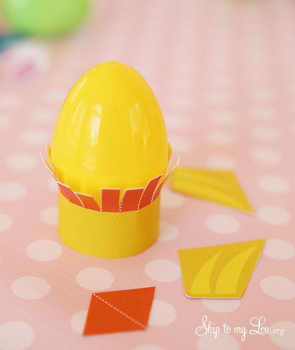 Easter Egg Chick Craft 2
