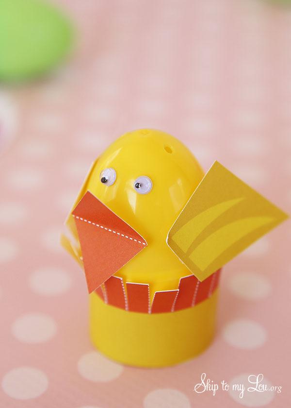 Easter Egg Chick Craft