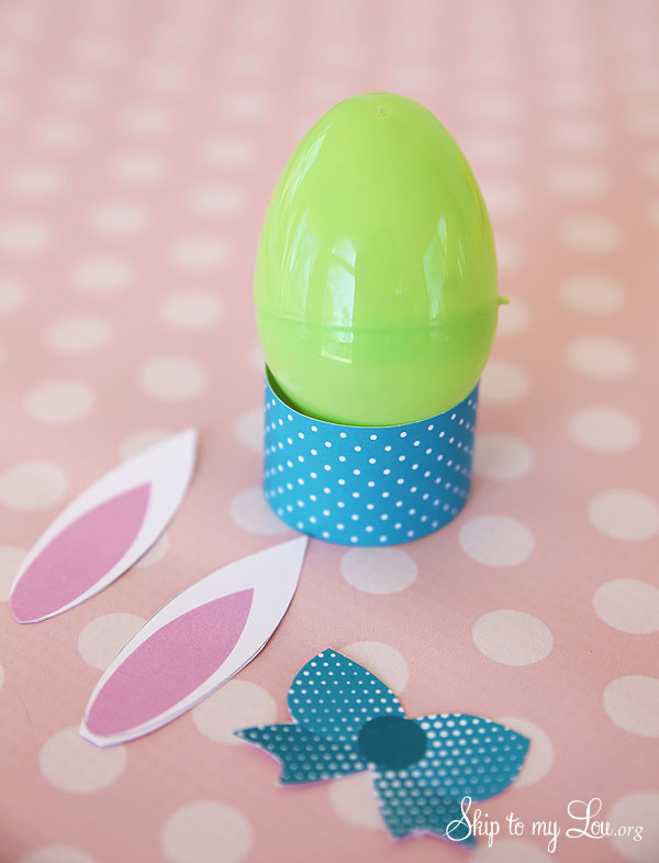 Easter Egg Craft Bunny 1