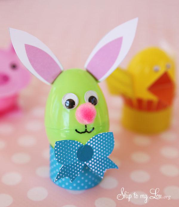 Easter Egg Craft Bunny