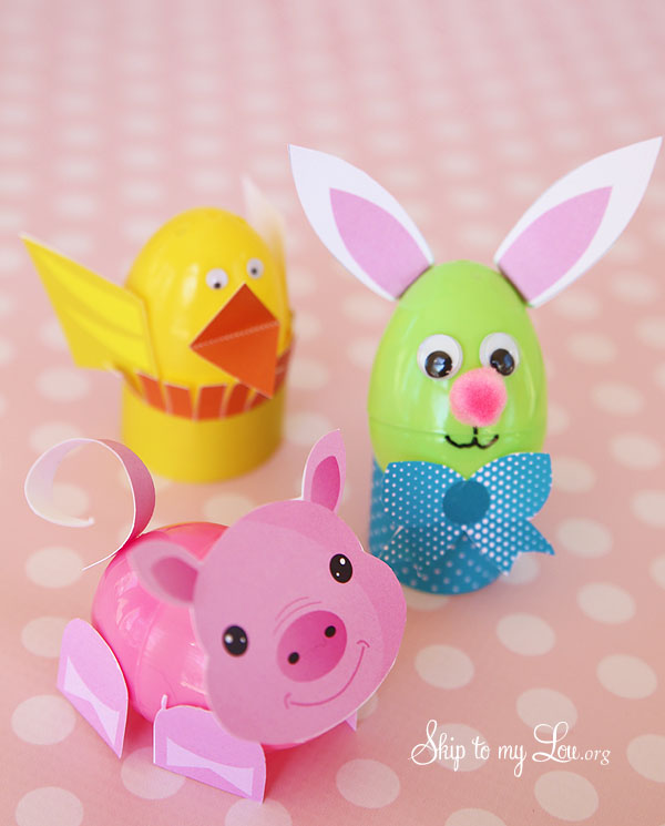 Easter egg craft skip to my lou